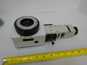 Microscope Part Leitz Germany Af Vertical Illuminator 563529 As Is Bin l6 80
