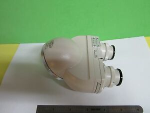Microscope Part New Olympus Head Optics Without Eyepieces As Is Bin 17