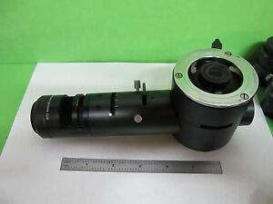 Microscope Part Vintage Leitz Vertical Illuminator Optics As Is Bin t2 05