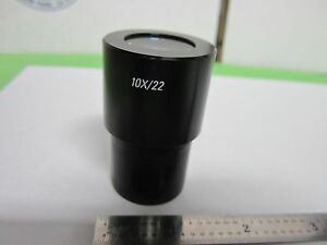 Microscope Eyepiece Leica 10x 22 13410750 Germany Optics Bin 8z m1