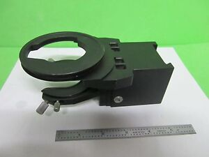 Microscope Part Olympus Optics Condenser Holder As Is Bin 64 10