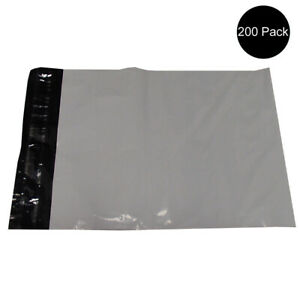 200 9 X 12 2 5 Mm Waterproof Thickness Flat Poly Mailer Tear Resistant Bags