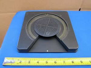 Microscope Part Leitz Germany Rotable Stage 573008 As Is Bin f8