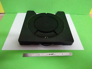 Microscope Part Leitz Germany Rotable Stage Table As Is Bin 67 01