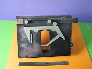 Microscope Part Dialux Leitz Germany Stage Slide Micrometer As Pictured Bn 36