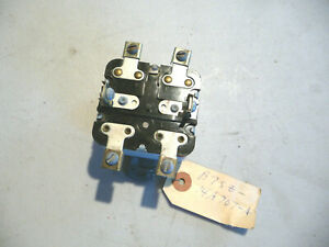 Nos 1957 1958 Mercury Dial O Matic Seat Control Relay For Rare Accessoy Turnpike