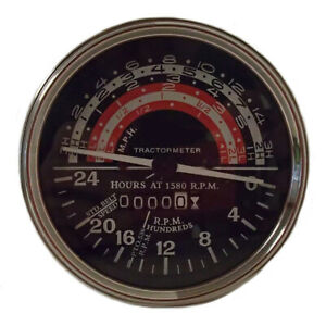 Massey ferguson harris To35 F40 Mh mf 50 65 Tractor Tractormeter Tachometer Tach