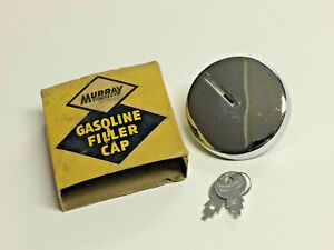 Vintage Chrome Locking Gas Cap Fits 65 66 Barracuda 60 66 Valiant 63 66 Dart