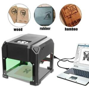 3000mw Usb Laser Engraving Cutting Machine Carver Diy Logo Printer Cnc Desktop