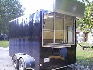 Concession Trailer Refrigerated freezer With Cold Storage cold To Go Trailers