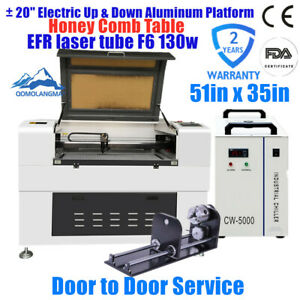 Usa 51 X 35 1390 Luxury Laser Engraving And Cutter efr F6 130w 160w Laser Tube