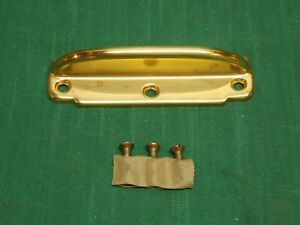 Vintage Brass Window Sash Lift 4 Flat Handle
