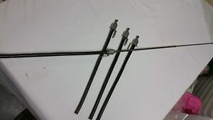 4 X New Old Stock Telescopic Vintage Cars Or Boats Antennas 37 Part