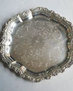 Countess International Silver Co Serving Tray 6271