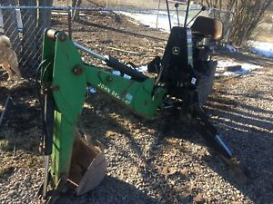 John Deere 47 Backhoe Attachment Came Off 4300 Fits 4200 4400 Plus Others