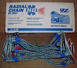 Scc Truck Bus Tire Snow Cable Chains Stock Tc2513mm Never Used