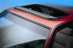 Avs Universal Windflector Pop out Sunroof Wind Deflector Fits Up To 36 5in Smoke