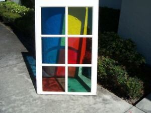 Decorative Colored Choice Of Red Green Yellow Blue Window Tint Film 20 X10 Roll
