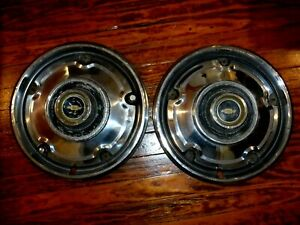 69 82 Chevy Pickup Truck 2wd 4x4 Hubcaps 15 2 Wheel Covers 1 2 Ton K10