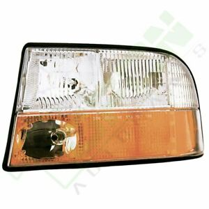 332 1166l as Head Light For Gmc 1998 2001 S15 Jimmy Left Lamp Replacement