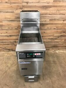 Pitco Solstice Supreme High Efficiency Gas Fryer With Filtration