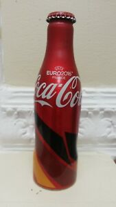 Germany Coca Cola 2016  Euro football Cup limited addition ( Aluminium ) empty