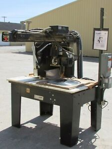 The Original Saw Co 20 Super Duty Radial Arm Saw 3558 W Power Feed