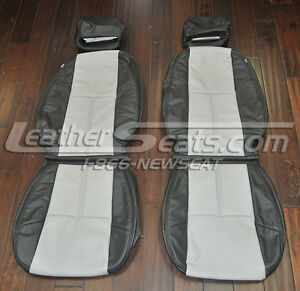 2007 2012 Chevrolet Silverado Regular Cab Leather Upholstery Seat Covers