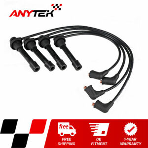 Spark Plug Wire Set 5mm For Honda Accord Civic Odyssey Oasis Acura Cl Integra