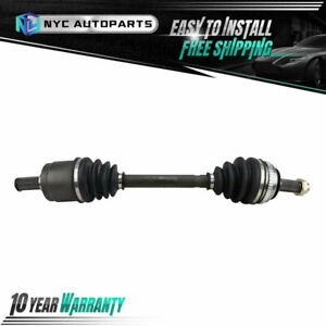 Front Left Cv Axle Half Shaft Assembly For 1990 1991 1992 1993 Acura Integra