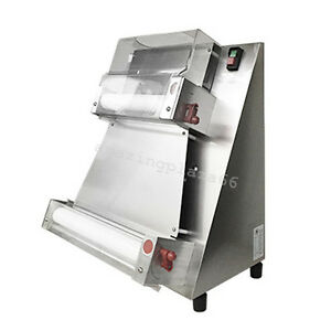 Portable Automatic Pizza Dough Roller Sheeter Machine Pizza Making Machine 370w