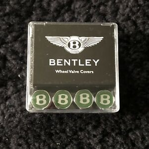 Bentley Arnage Continental R Turbo R Green Valve Cap Set Py112212pa New Nos Oem