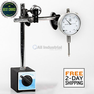 Dial Indicator Set Test 001 On off Magnetic Base Supply Inspection Machinists