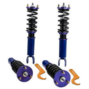 Coilovers Fit Honda Accord 2008 2012 Acura Tsx 09 14 Suspension Kit Blue