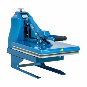 Hix S650 Digital Auto Open Clamshell Heat Press With Platen And Splitter Stand