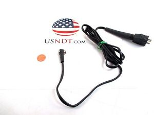 Ultrasonic Transducer 5 Mhz Contact Dual Ndt Flaw Thickness Olympus Ge Probe
