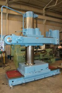 6 X 14 Tos Model Vrm 50 Universal Radial Drill Yoder 67935
