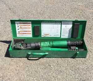 Greenlee 1990 Dieless Hydraulic Cable Crimper 1989 Burndy 4