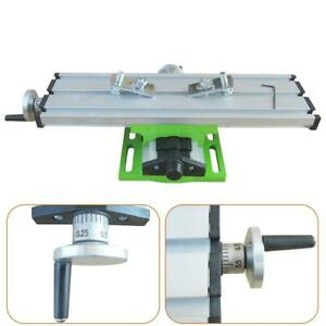 Mini Table Bench Vise Bench Drill Milling Machine Cross Assisted Positioning