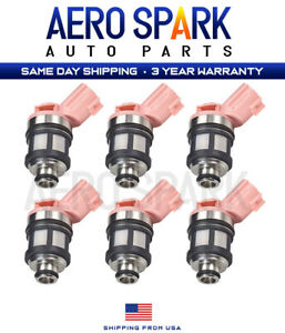 6 Pcs Fuel Injectors For 1996 2004 Nissan Frontier Pathfinder Xterra 3 3l