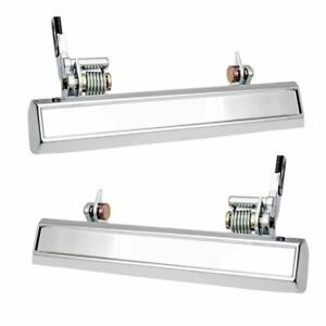 New Outside Door Handle Set Left Right Chrome For 1975 1981 Camaro Firebird