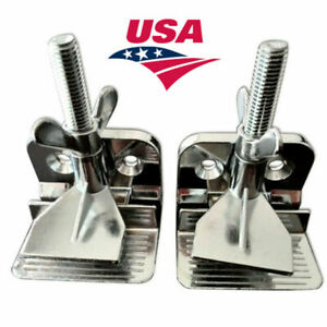 2pcs Butterfly Frame Hinge Clamp Durable Silk Screen Printing Tool Usa
