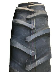 2 New Tires 18 4 38 Harvest King R 1 Tractor Rear 8 Ply Tt 18 4x38 Usaf