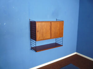 Wall Unit With Desk By Kajsa Nils Strinning For String 1950s