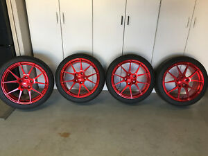 Forgeline Wheels W Tires For Bmw M Series Or 2015 Later Mustangs