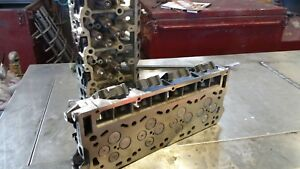 6 0l Ford Powerstroke Cylinder Heads Pair Free Shipping F250 F350 Turbo Diesel