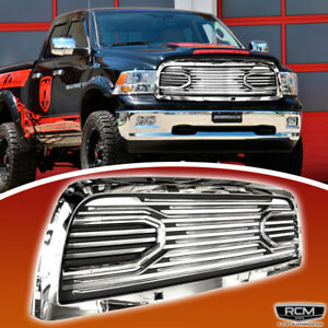 Front Grill Chrome Black Grille Fits For Dodge Ram 2500 2010 2016