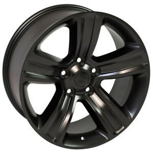 Satin Black Wheel 20x9 Ram 1500 Style For 2005 2011 Dodge Dakota