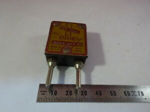 Bliley Electric Wurlitzer Vintage Quartz Crystal Frequency Radio 6v a 27