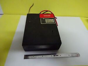 High Voltage Power Supply For Helium Neon Laser As Is Bin w9 10